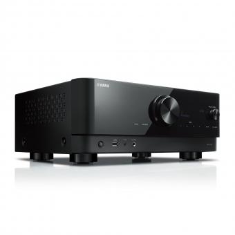 Yamaha RX-V4A AV Receiver 5.2-Kanal-AV-Receiver mit CINEMA DSP 3D, HDMI™ 4 Eingänge/1 Ausgang, kabelloser Surround-Sound