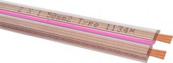 Oehlbach Streamline Lautsprecherkabel flach 2x1,5 mm² - Meterware
