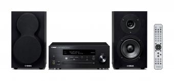 Yamaha MusicCast MCR-N470D Mini Hifi System Schwarz
