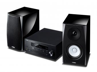 Yamaha MusicCast MCR-N570D Mini Hifi System Schwarz