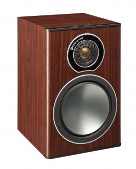 Monitor Audio Bronze 1 Regallautsprecher Rosenholz Paar - Aus Rücksendung Retoure Neuwertig