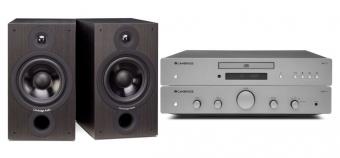 Cambridge Audio Hifi Sparkaket AXA25 + AXC25 + SX60