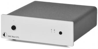 Pro-Ject DAC Box S FL Digital/Analog Converter silber