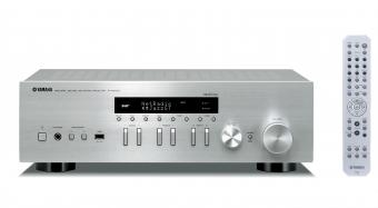 Yamaha MusicCast R-N402D Netzwerk Hifi Receiver Silber