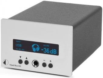Pro-Ject Head Box DS silber (Kopfhörerverstärker mit D/A Wandler)