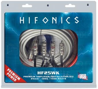 Hifonics 25mm² Premium Verstärker-Anschluss-Set
