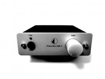 Pro Ject Phono Box USB V Silber