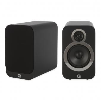 Q Acoustics 3020i Regallautsprecher Schwarz (Paar)