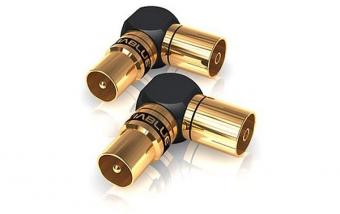 Viablue XS Antennenadapter 90° - 2 Stück