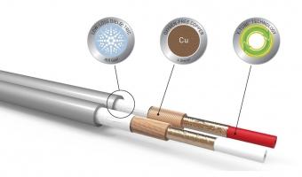 QED Reference XT40i 4mm² Lautsprecherkabel mit X-Tube Technologie (Preis pro Meter)