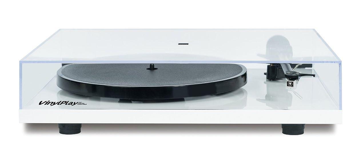 Flexson VinylPlay Plattenspieler /ADC/Pre-out weiß ...