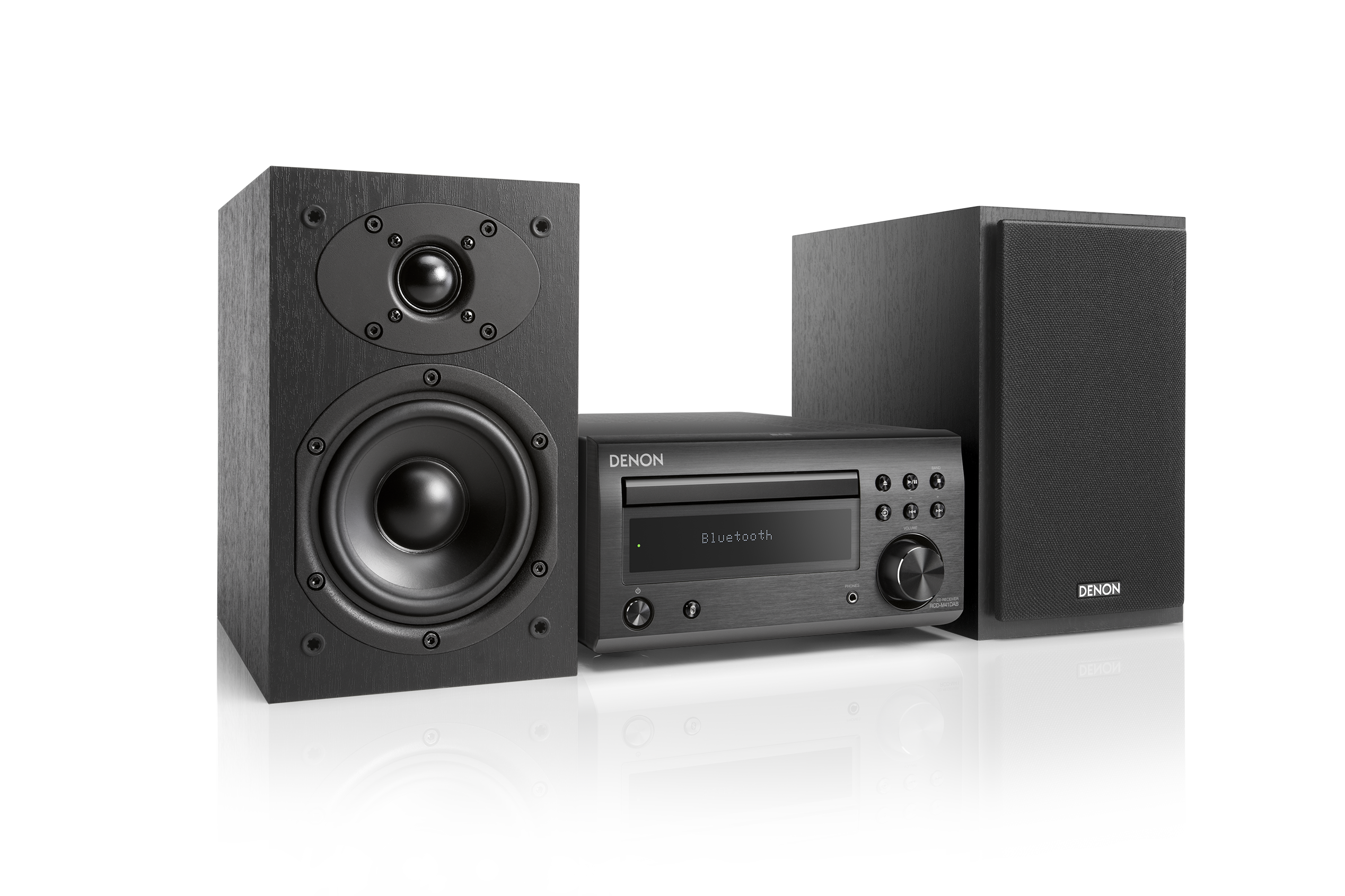 denon d m41dab hifi system mit cd bluetooth und ukw dab. Black Bedroom Furniture Sets. Home Design Ideas