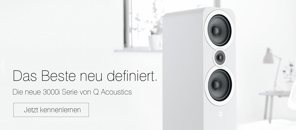 Q Acoustics 3000er Serie