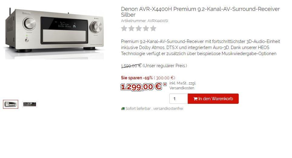 Denon AVR-X4400