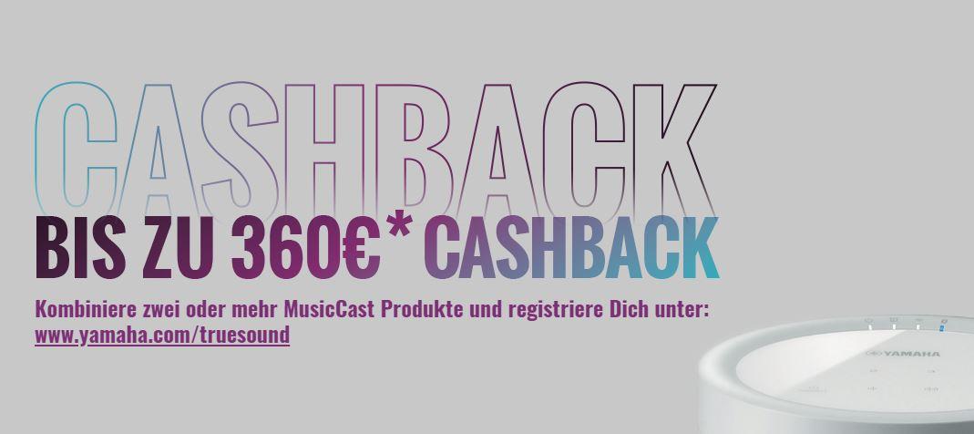 Yamaha Cashback